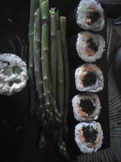 sushi vegetale, come arrotolare il sushi