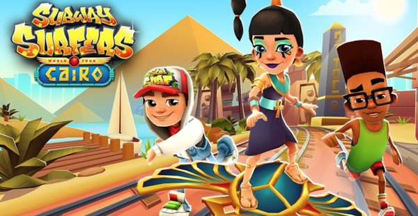 Download Subway Surfers Cairo Mod Apk Terbaru 2021
