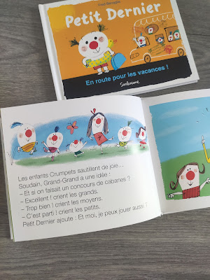 Petit dernier livres de lecture maternelle cp éditions sarbacane
