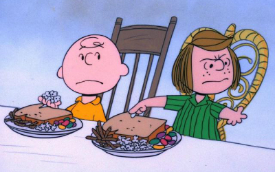 "The parable of ""A Charlie Brown Thanksgiving"""