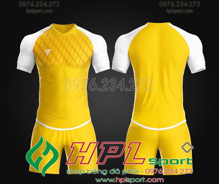 Áo ko logo TA Spe màu vàng