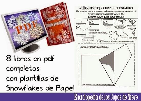 copos de nieve, snowflakes, papel, origami, navidad, manualidades