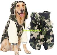 Logo Amazon :  Big Pet Dog Felpa per cani con Codice sconto di €16,15, tua a poco più di 1€ !