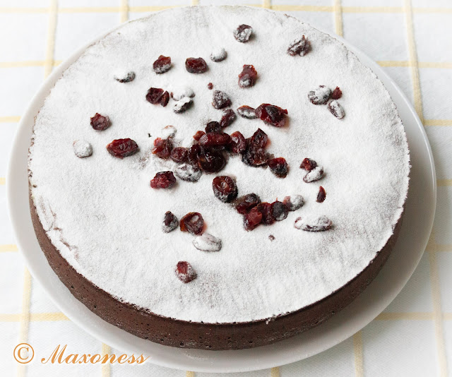 Шоколадный пирог с солёным маслом. Французская кухня