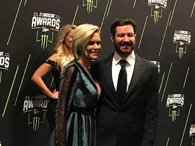 Monster Energy #NASCAR Cup Series Champion Martin Truex Jr. and his girlfriend Sherry Pollex.