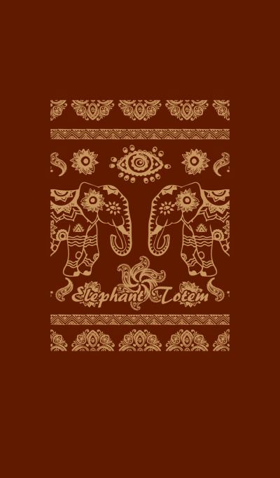 Elephant Totem-Brown