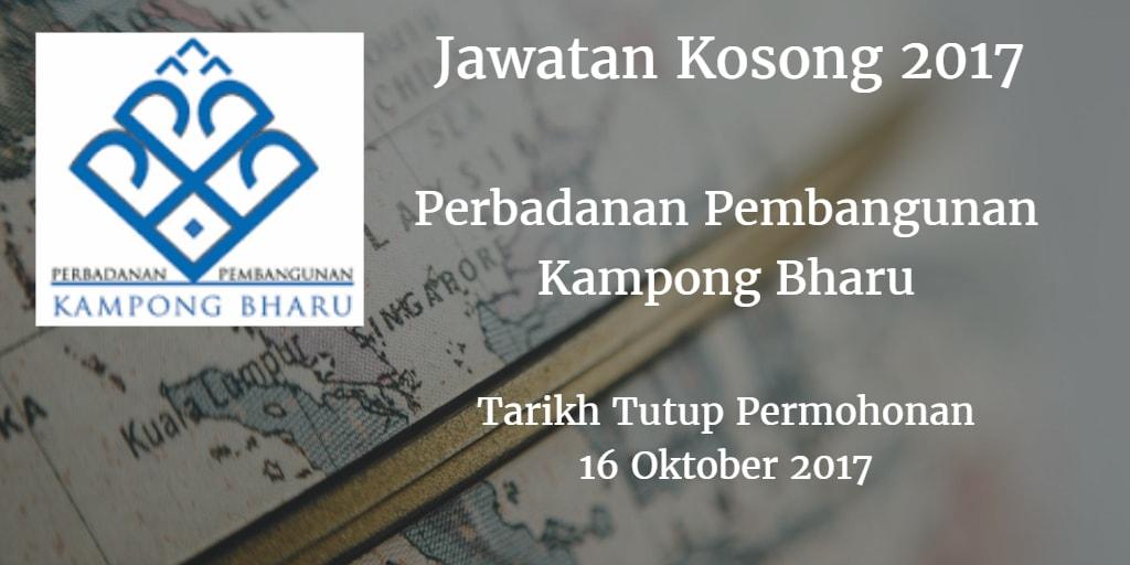Jawatan Kosong PKB 16 Oktober 2017