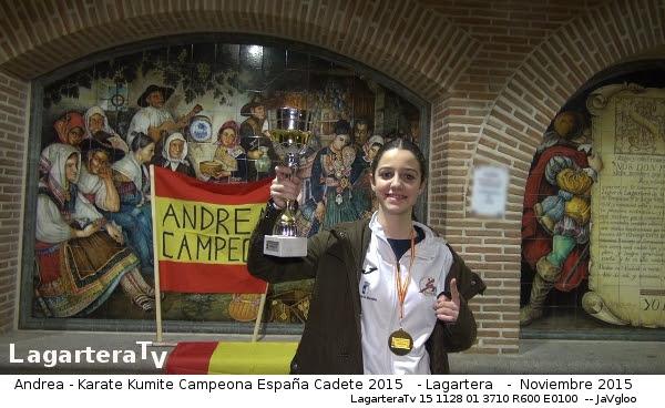 Trofeos de Karate de Andrea, LagarteraTv