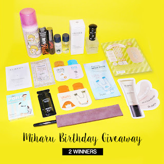 Miharu Julie Birthday Giveaway