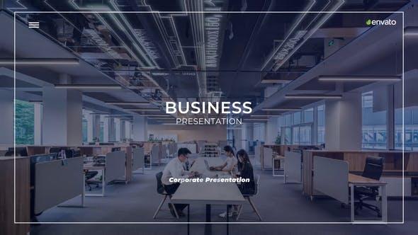 Videohive Minimal Corporate Presentation 23825072