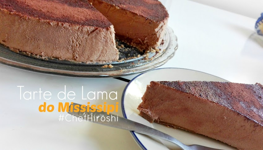 Tarte de Lama do Mississipi (Mud pie)