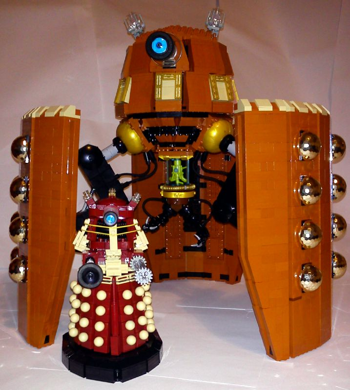 How To Build A Dalek In Lego Dimensions