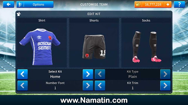 Kostum Dream League Soccer PSM Makassar