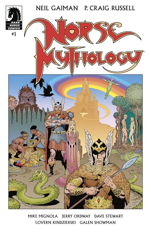 Cover of Neil Gaiman Norse Mythology #1