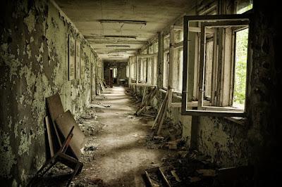 kota menyeramkan pripyat