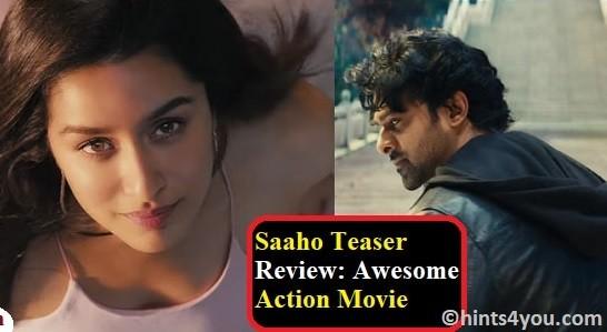 Saaho Teaser Released: