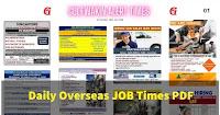 Overseas Job Vacancies - Daily Newspaper Oct01
