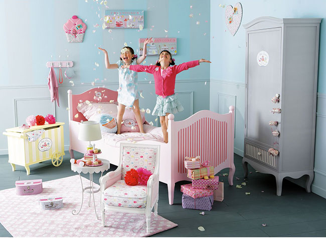 maisons du monde collezione junior home shabby home arredamento interior craft. Black Bedroom Furniture Sets. Home Design Ideas