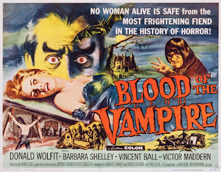 Poster - Blood of the Vampire (1958)