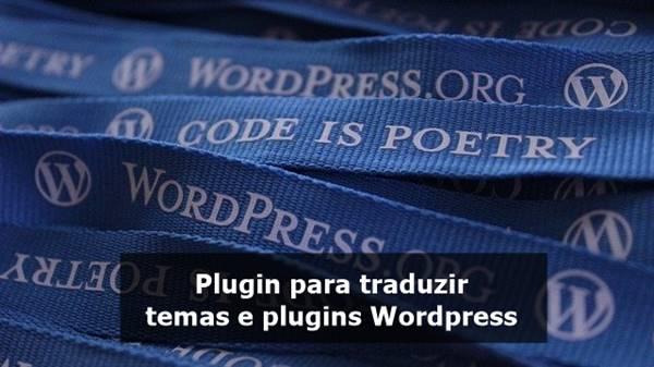 traduzir Temas e Plugins WordPress