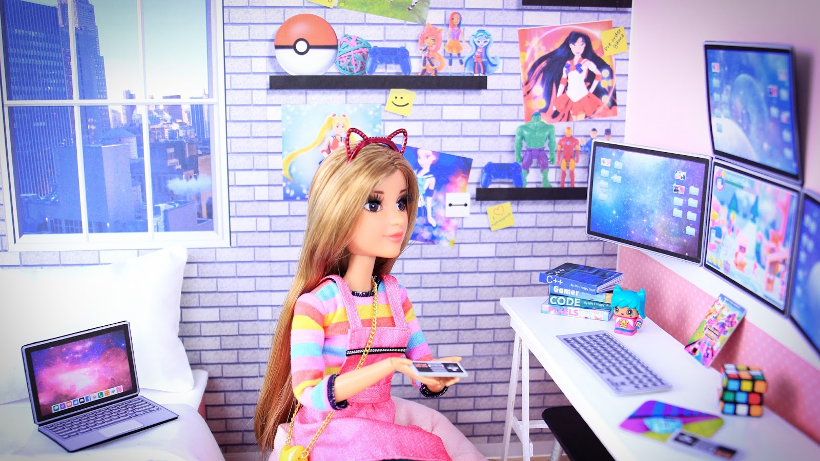 My froggy stuff how to make a doll video gamer room plus free how to make a doll video gamer room plus free printables ccuart Choice Image
