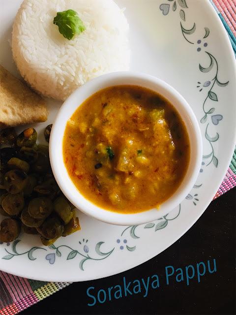 Sorakaya Pappu Kura