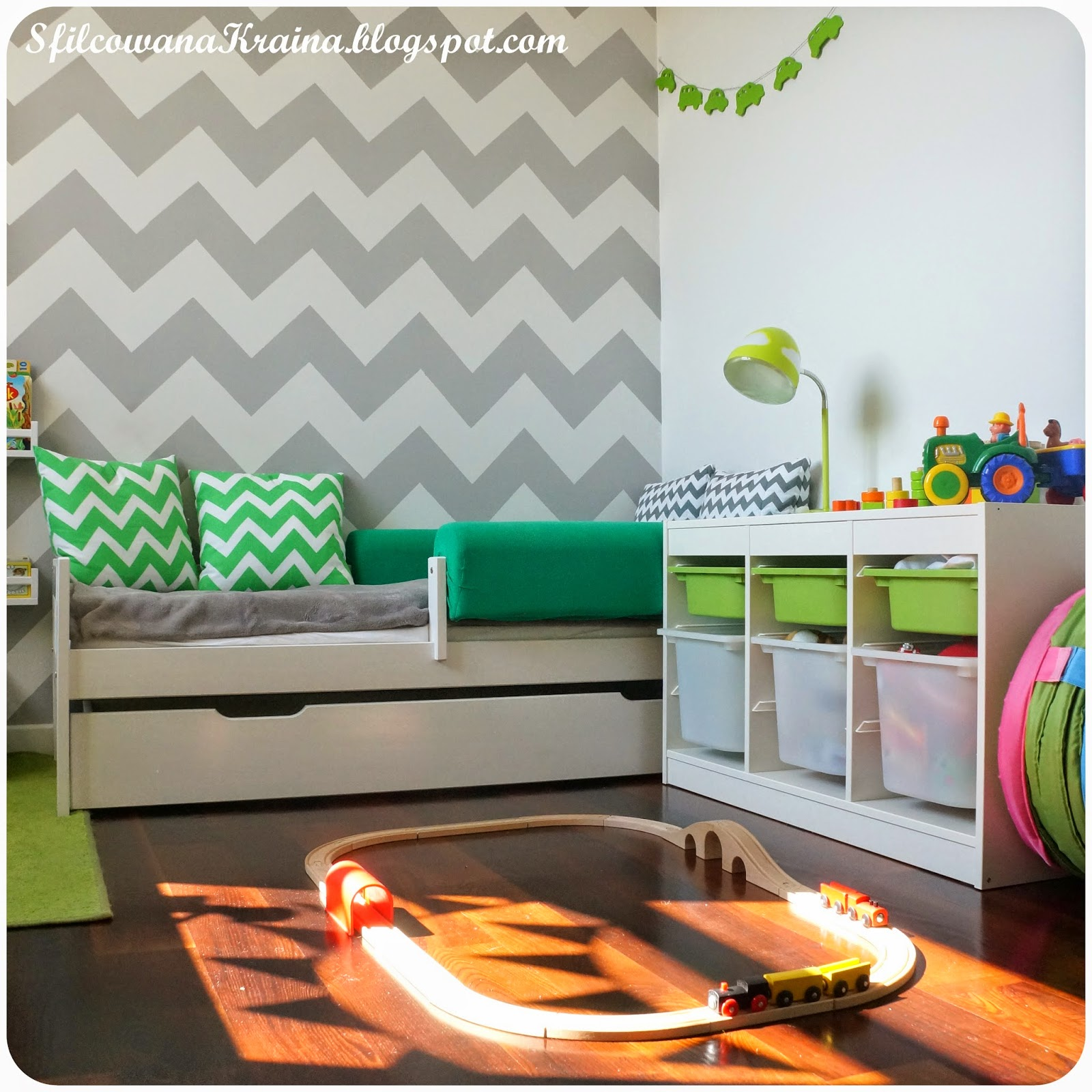 P&P Home Decor: Pokój dwulatka...i jego młodszego brata :)