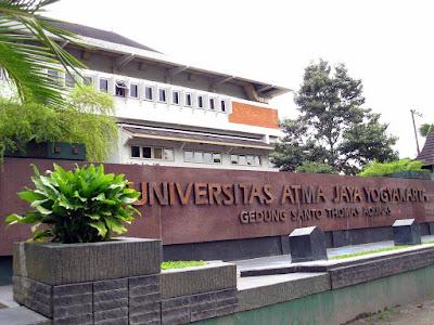 Universitas Atma Jaya Yogyakarta Jurusan – Daftar Fakultas dan Program Studi
