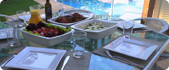 Almoço de Domingo: Frango Assado c/ Batatas