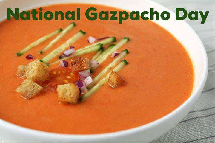 National Gazpacho Day Wishes Awesome Images, Pictures, Photos, Wallpapers