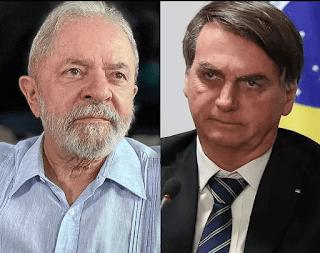 Pesquisa mostra empate entre  Lula e  Bolsonaro  em 2º turno