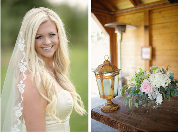 Montana Bride / Flowers by Mac's Floral / Photography: Tracy Moore Photography