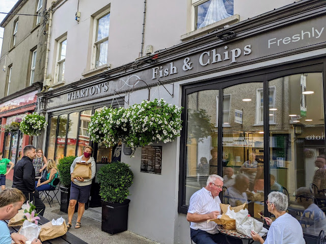 West Cork Ireland - Wharton's Fish and Chips in Bantry