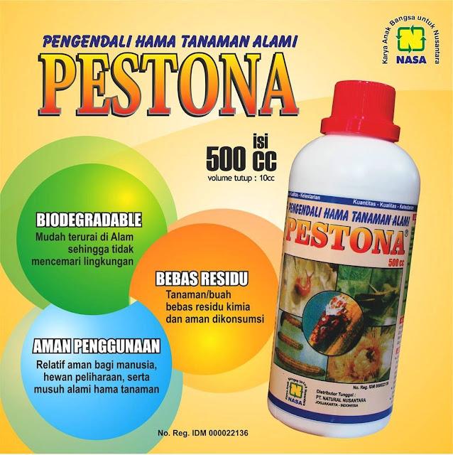 PESTONA - Pestisida Organik NASA. Pengendali Hama Alami.