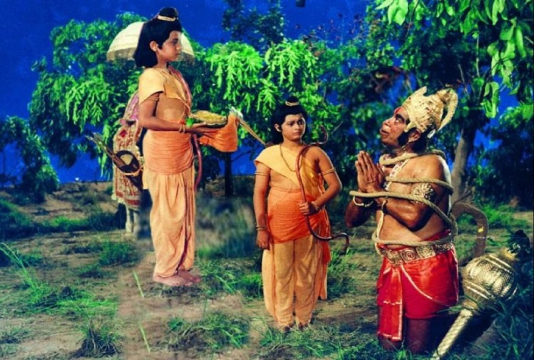 seeing-the-lockdown-people-remembered-the-era-of-ramayana-silence-on-the-streets