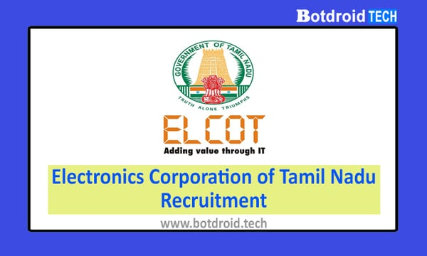 ELCOT Recruitment 2020 Tamil Nadu, Apply ELCOT Jobs in Chennai