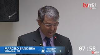 Marcelo Bandeira segue João Azevêdo e anuncia desfiliação do PSB de Guarabira