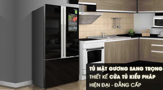 Tủ lạnh Panasonic Inverter 452 lít NR-CY558GKV2
