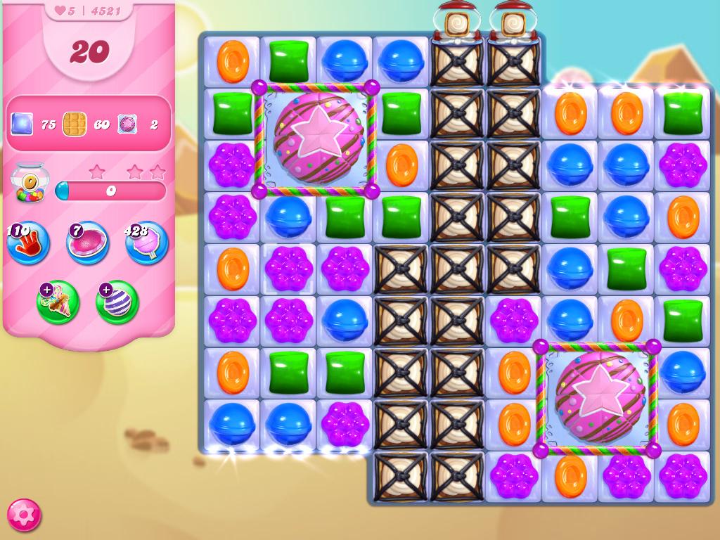 Candy Crush Saga level 4521