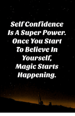 Self Confidence Is A Superpower Quote