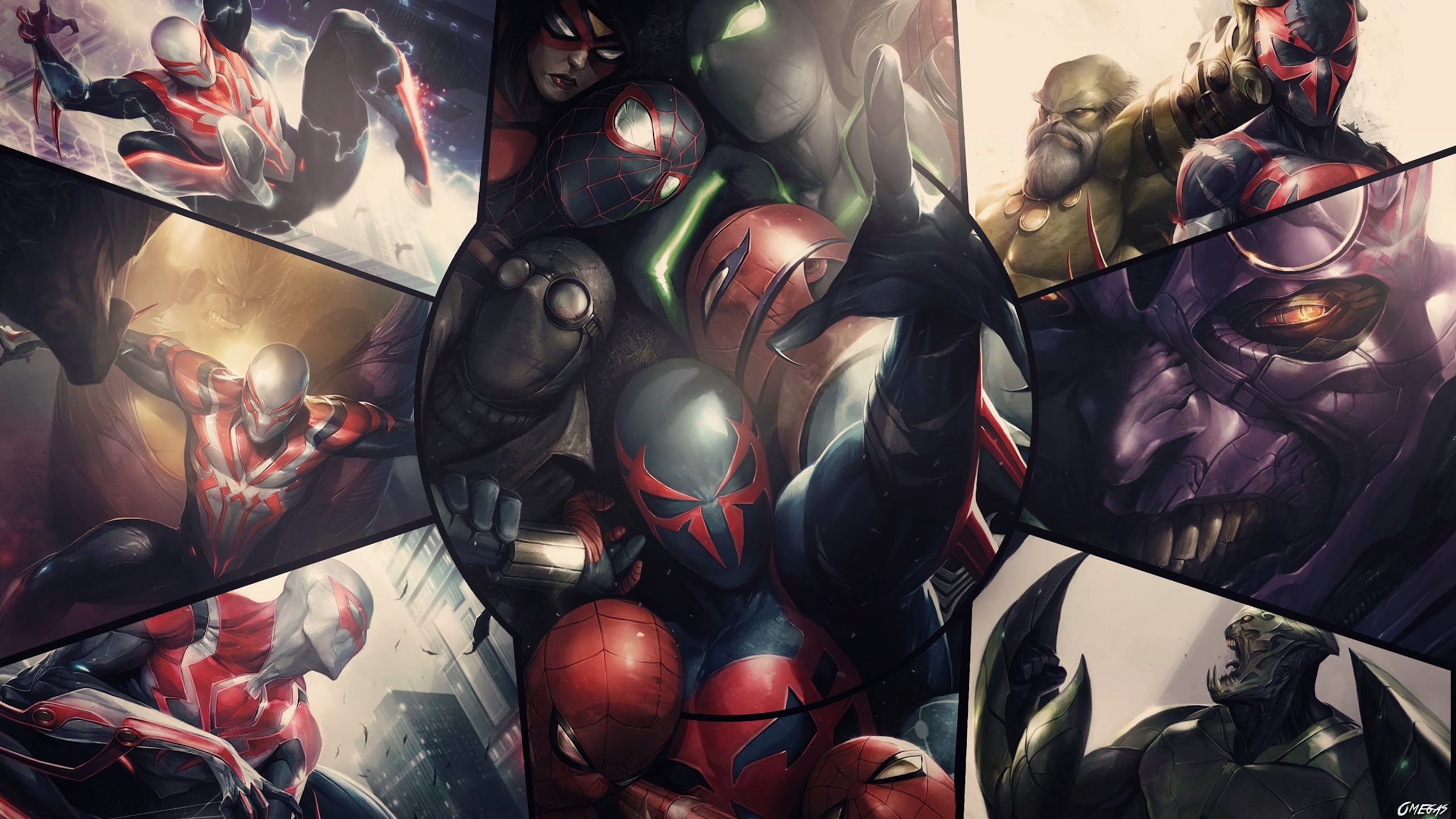 Spider Man 2099 4k Wallpaper 89