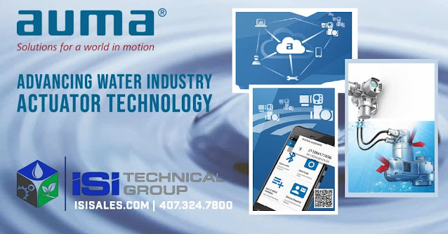 AUMA in the Water & Wastewater Industry