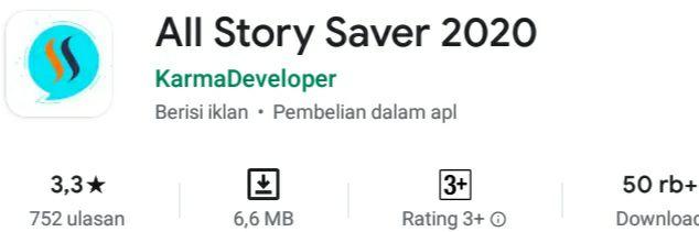 https://play.google.com/store/apps/details?id=empiric.status.storysaver
