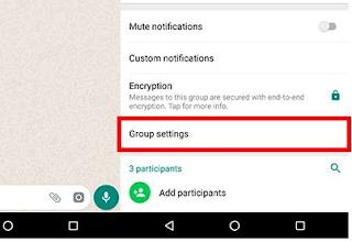 Cara Blokir Chat Orang Lain di Grup WA