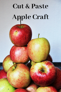 Cut & Paste Apple Craft