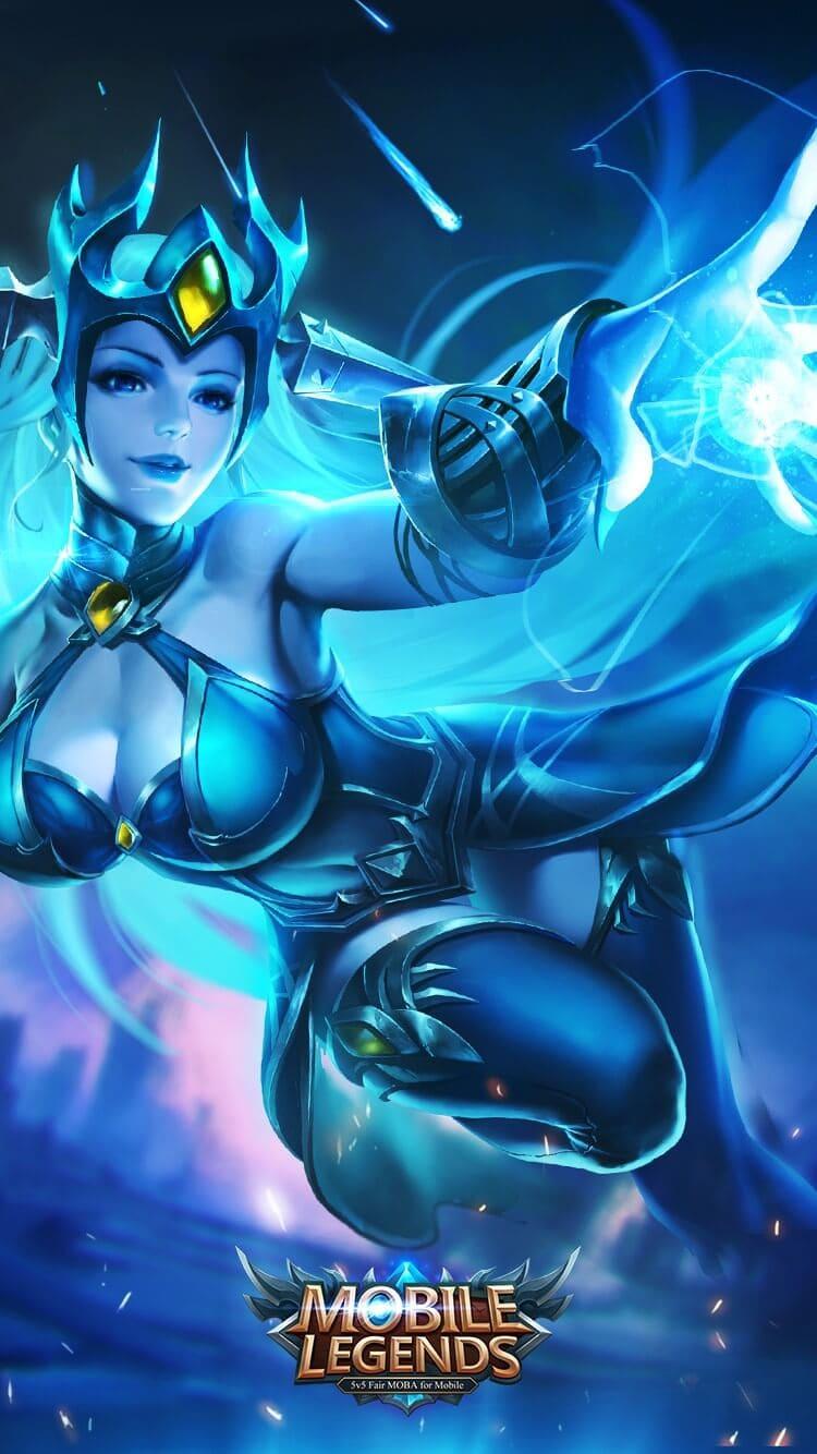 Wallpaper Eudora Lightning Sorceress Old Skins Mobile Legends HD for Mobile