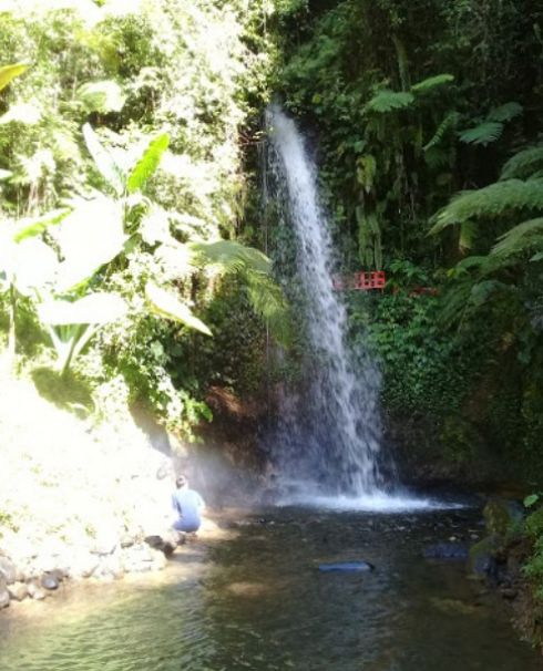 Curug Ceret Pangalengan (Surya Bandung)