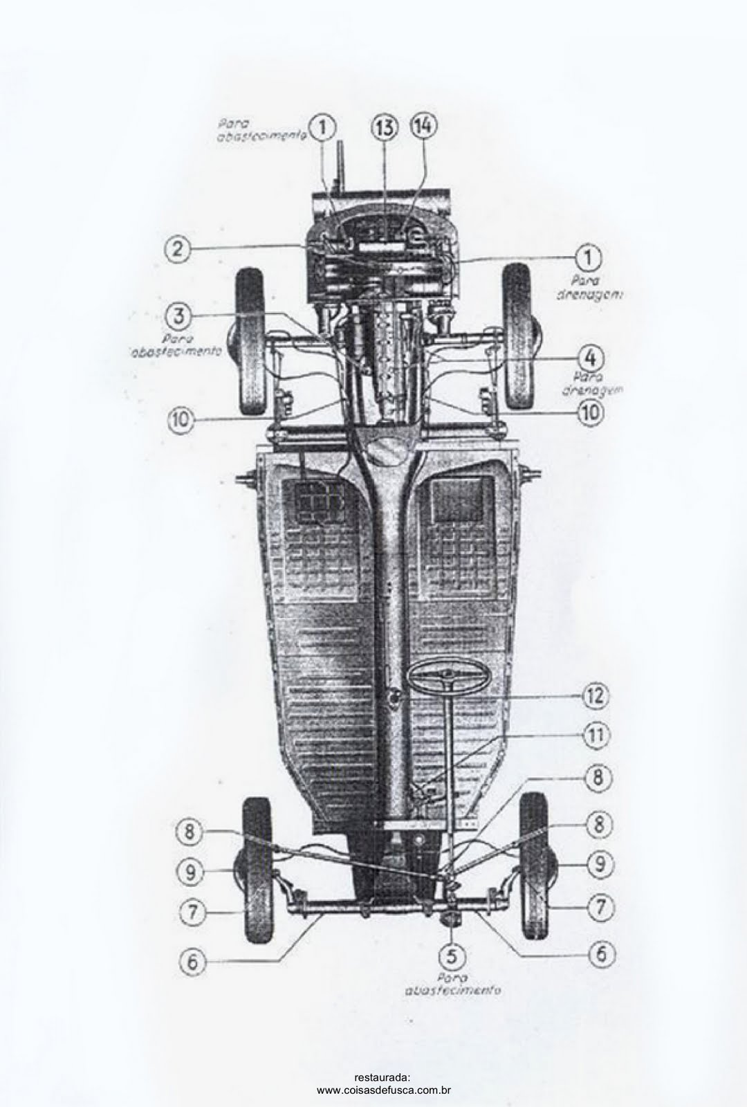 MANUAIS DO PROPRIETÁRIO GRÁTIS: MANUAL DO VW FUSCA 1952