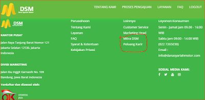 """edukasiahasainggris-Job Vacancies-Today is Saturday 30 November 2019 I found a vacancy on the Syariah Motor Fund (DSM) website. At first I wanted to apply but it was not in accordance with my work experience qualifications, because the company required to have experience working in banking, vehicles and insurance. Finally, I posted on this site, hopefully there are suitable with the qualifications of work experience.    Dana Syariah Motor (DSM) is a non-bank financial institution providing Syariah Fund products as productive loans for consumer business capital so that consumers can achieve established financial goals. currently Syariah Motor funds (DSM) are in need of partners to promote their products, you want to be a partner please register HERE , the pay is very large, and for those of you who are in need of funds quickly disbursed for home renovations, capital business, wedding costs and other costs you can submit it here, complete the form correctly and enter the reff code 5d4ff to be approved.        DSM is developing very rapidly, so it is currently looking for """"Financial Marketing Executives"""", to carry out the task of Doing Sales Applications Nationally, Building cooperation with related parties, Responsible for the truth of customer data, Communicating Well and Politely, Making reports on Sales of Applications and Creating Design and Copywriting Content.    If you are looking for a job, what's wrong to apply Here.        Financial Marketing Executive Job Vacancies  With the following qualifications;    1. Maximum 25 years old woman  2. Minimum S1 or D3 Education  3. Look Good and Good Looking  4. Understand and understand social marketing online  5. Have 2 Wheeled Vehicles  6. Experience in Banking / Vehicles / Insurance.  7. Has a Smartphone Version 7.0 and above  8. Spirit, confidence, perseverance, and tenacity.  9. Application-oriented sales results    VISIT:  Basic salary    INCENTIVE:  Closing Bonus Application    WORKING TIME:    Monday to Friday 08"""