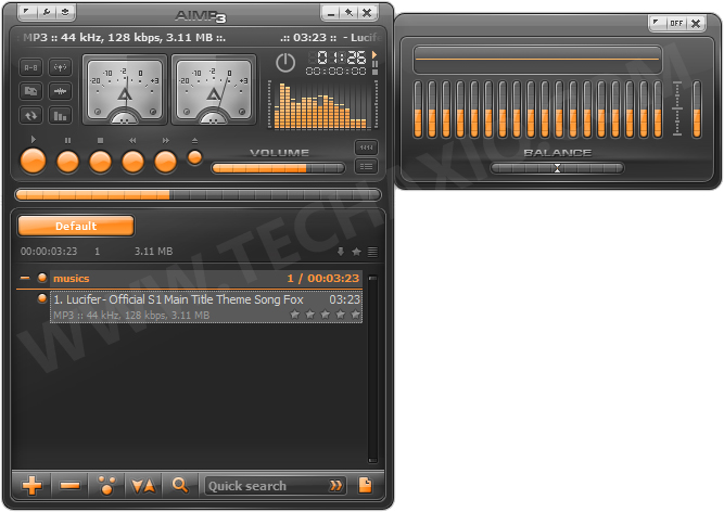 AIMP3 Screenshot